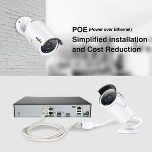 Image 3 - SANNCE 4CH HD 1080P HDMI P2P POE NVR 1TB HDD Überwachung System Video Ausgang 4PCS 2.0MP IP kamera Home Security CCTV Kits