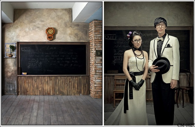 Wedding Chalkboard Clock Wood Backdrops Vinyl Cloth High Quality Computer Printed Backdrop Photo Studio Background