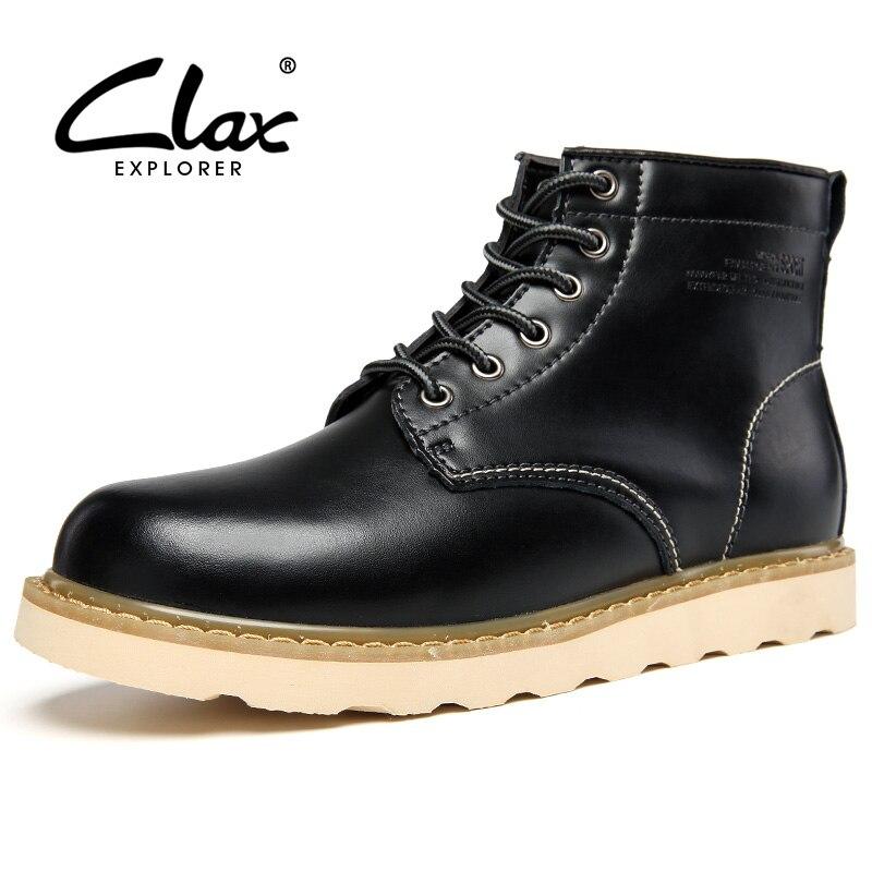 Black Leather Work Boots Promotion-Shop for Promotional Black ...