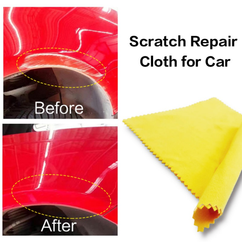 Fit Clear Car Scratch Polish Cloth for Car Light Paint Scratches Remover Scuffs on Surface Repair fit Car or Door