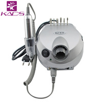 Professional Electric Nail Art Drill File Machine Manicure Pedicure Bits Kit With Foot Pedal Nail Polisher 25000RPM