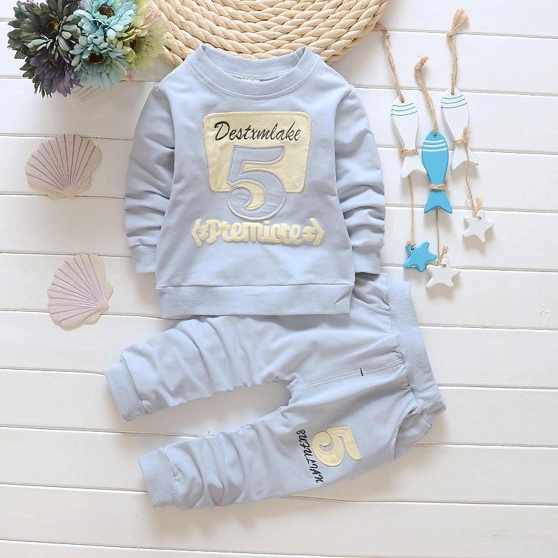 2016 new Boys clothing sets spring autumn Baby Sets cotton boy tracksuits Kids sport suits coats/sweatshirts+pants