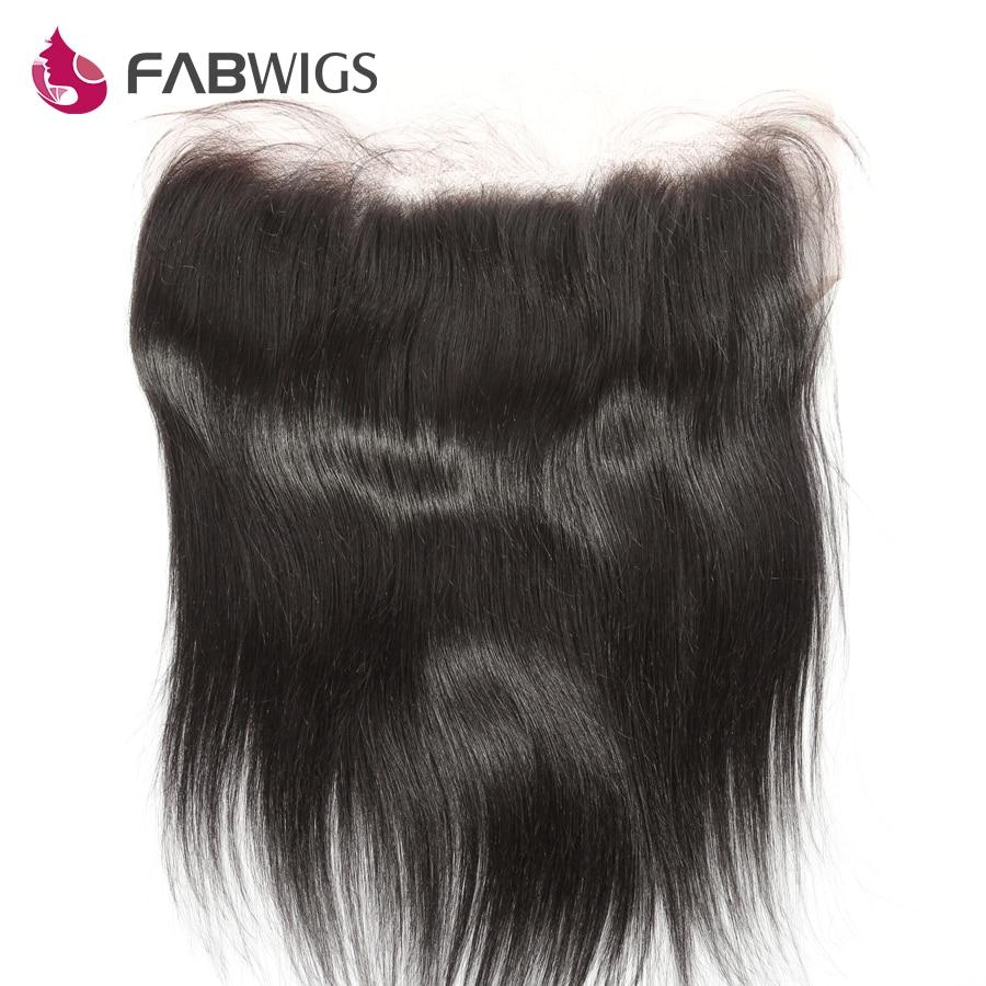 Fabwigs Peruvian Silky Straight 13x6 Lace Frontal Pre