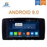 JDASTON 9 дюймов Android 9,0 Автомобильный мультимедийный плеер для Mercedes Benz AMG R Class W251 R300 R350 R63 2 Din автомобильный радиоприемник gps RDS стерео