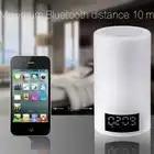 LED colorida luz nocturna táctil Bluetooth Audio inteligente hogar ambiente emotivo altavoz lámpara - 3
