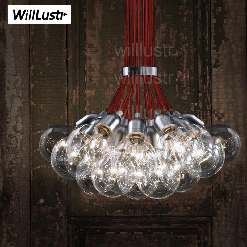 Испания DAB 10 15 19 21 лампы алюминиевые подвесные лампы современный алюминиевый головной свет Испанский Дизайн Внутреннее освещение dab лампа кластер