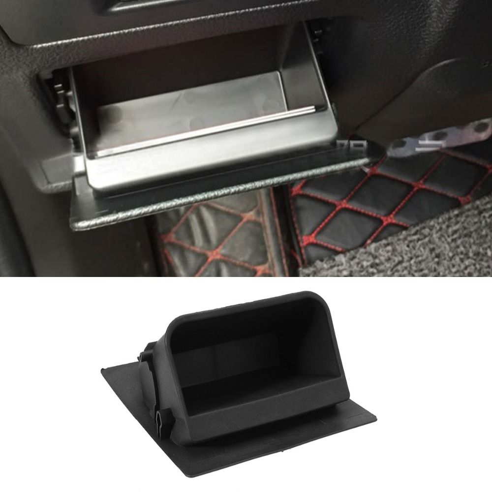 LHD Car Fuse Box Armrest Storage Box Coin Cards Box Tray Holder for Subaru  XV Forester