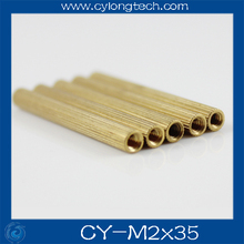 Free shipping M2*25mm cctv camera isolation column 100pcs/lot Monitoring Copper Cylinder Round Screw. CY-M2*25mm