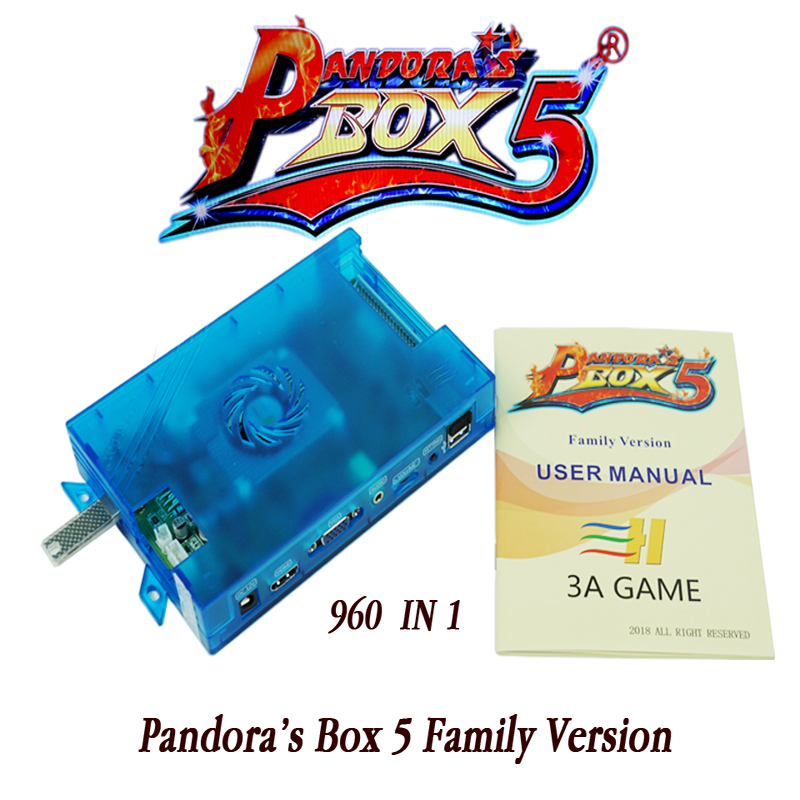 Pandora Box 5 960 in 1 Jamma Mutli-game motherboard Arcade HDMI/VGA Output with HD720P in family Version Console twister family board game that ties you up in knots