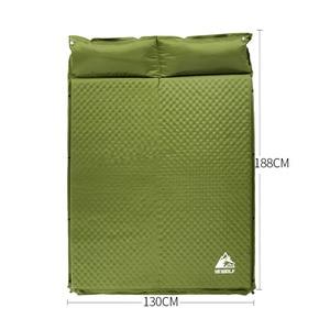 HEWOLF 2 + 1 Сращенные уличные толстые 5 см автоматические надувные подушечки для палатки, коврики для кемпинга, матрас для кровати, 2 цвета