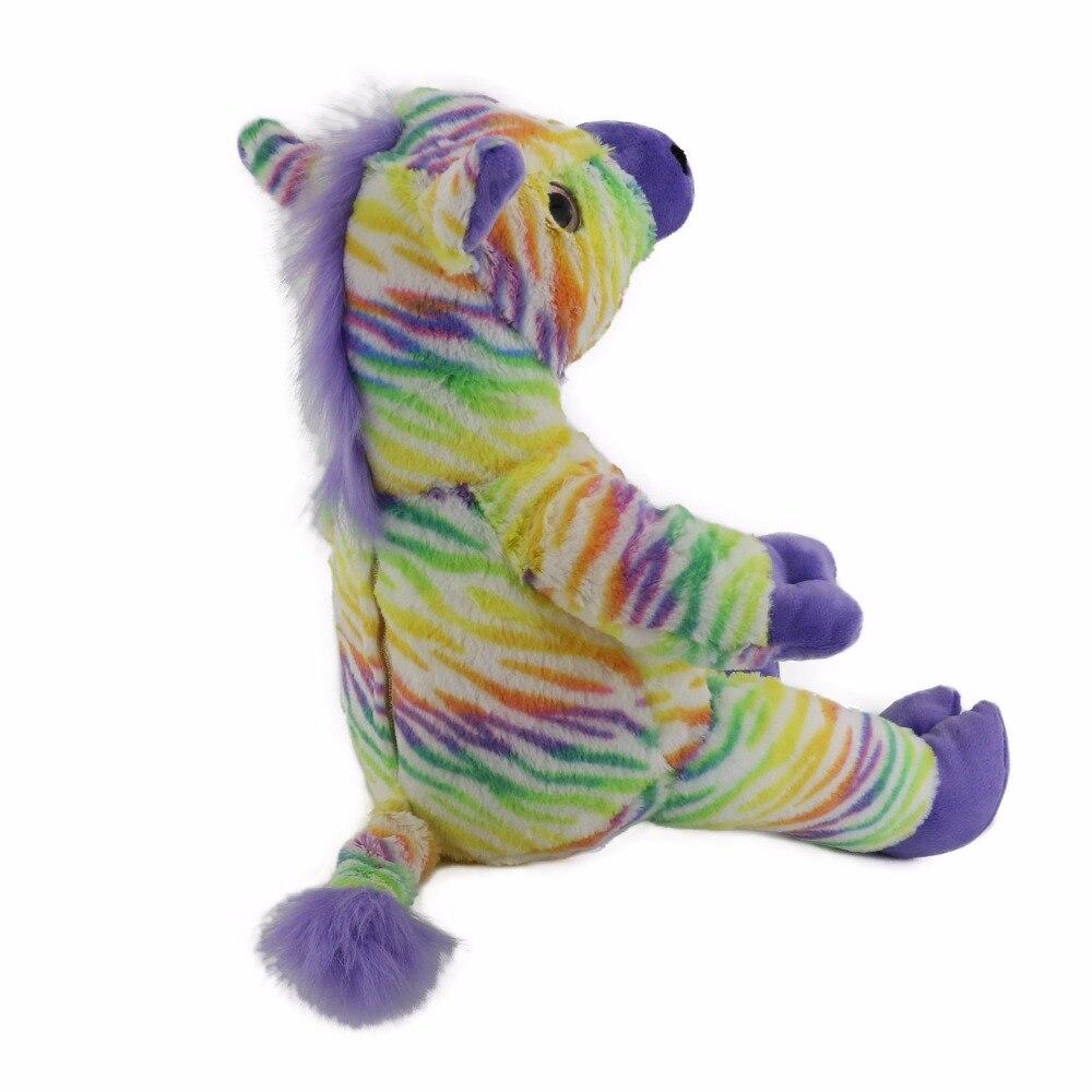 חיות ממולאים ומפוארים - Cozfay Dropshipping 45cm Colorful Horse ... 942a5dbb03d0