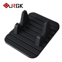 JRGK Soft Silicone Anti Slip Mat Universal GPS Cell Phone Holder Mount Stands Bracket Support  for iphone Samsung Huawei Xiaomi