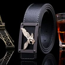 Hot sale eagle style gold belts easy buckle girdle males's top quality luxurious designer belt ladies denims s00821