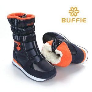 Image 5 - 2018 New Style Women Boots Fashion Silver Warm Brand Buffie