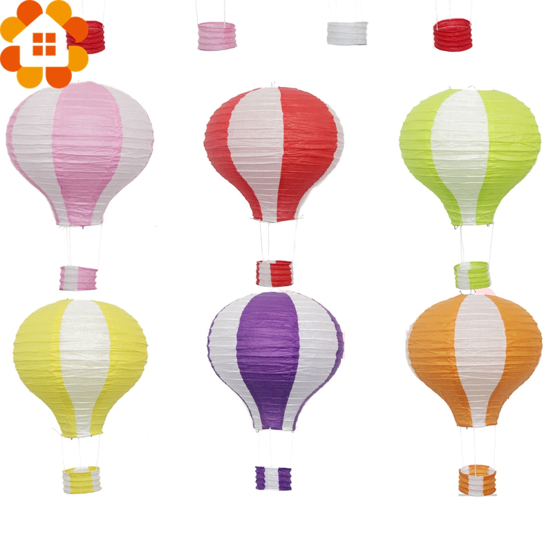 New!12inch 17Colors Rainbow Paper Lantern Hot Air Balloon Sky Lanterns Home/Wedding/Birthday/Christmas Party Decoration Supplies(China (Mainland))
