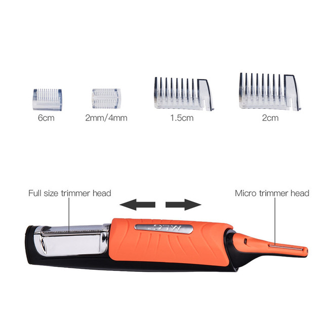 Original Micro Trimmer Hair Cutter (4 Combs)