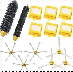 6 Hepa Filter +Flexible Beater Bristle Brush kit + 6 side brush kit for iRobot Roomba 700 Series 770 780 790 aspirador accessory jbl lsr4300 accessory kit