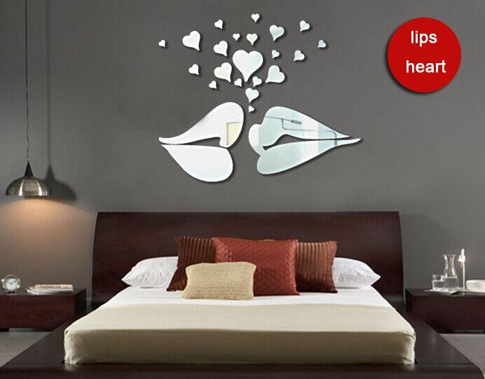 spiegel lippen-kaufen billigspiegel lippen partien aus china ... - Wohnzimmer Spiegel Modern
