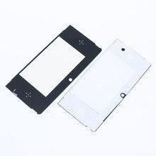 2 pcs Top Frente Protetor de Tela LCD Tampa Da Lente de Substituição de Plástico para Nintendo 3DS