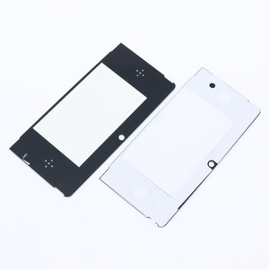 Image 1 - 2pcs Top Front LCD Screen Protector Plastic Cover Lens Replacement for Nintendo 3DS