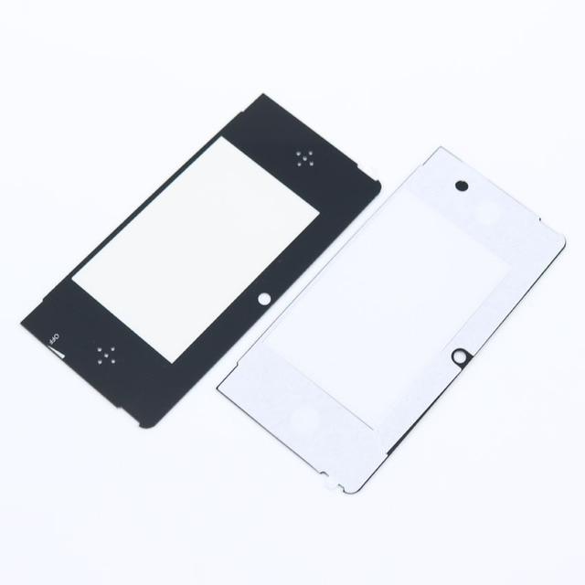 Protector de pantalla de LCD frontal superior para Nintendo 3DS, 2 uds.