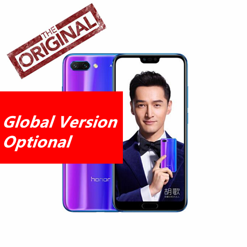 Huawei Honor 10 6G 64G Android 8 0 24 0MP AI Camera 3D Curved Glass Kirin