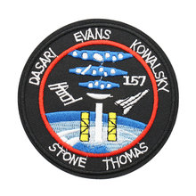 Custom Embroidered Outer Space Sew On Iron Patch Badge Fabric Applique Craft Welcome to send me artwork DIY your own patch