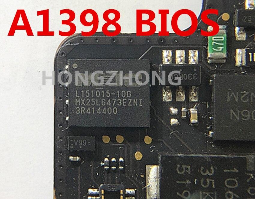 """BIOS EFI firmware chip A1398 Apple MacBook Pro 15/""""  logicboard 820-5482-A 2015"""