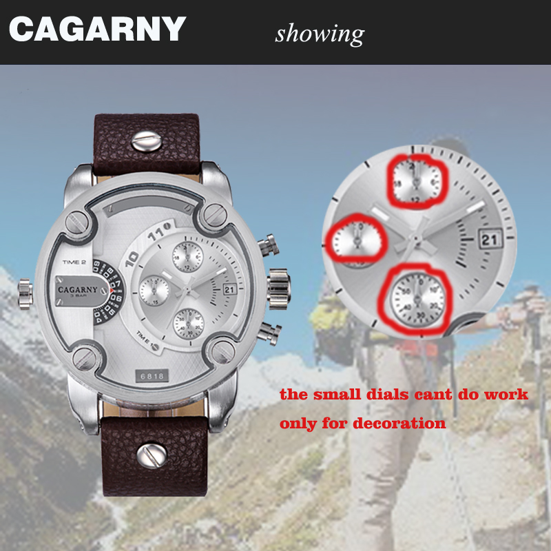 cagarny dz style quartz watch men golden mens watches (88888889)