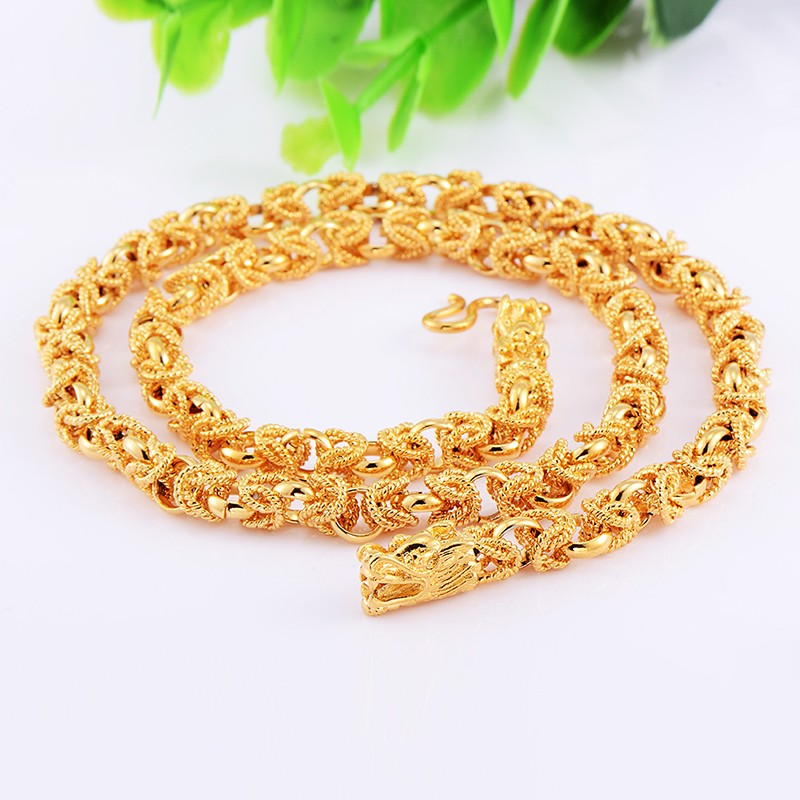 Men-Jewelry-FASHION-WOMENS-HEAVY-18K-SOLID-GOLD-FILLED-Dragon-LINK-CHAIN-20INCH-NECKLACE-For-Men (1)