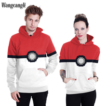 wangcangli 2017 New Fashion men Brand Hoodies Pokemon Eyes Robot 3D Printed Galaxy Ladies Sportwear Women Sweatshirts size M-XXL