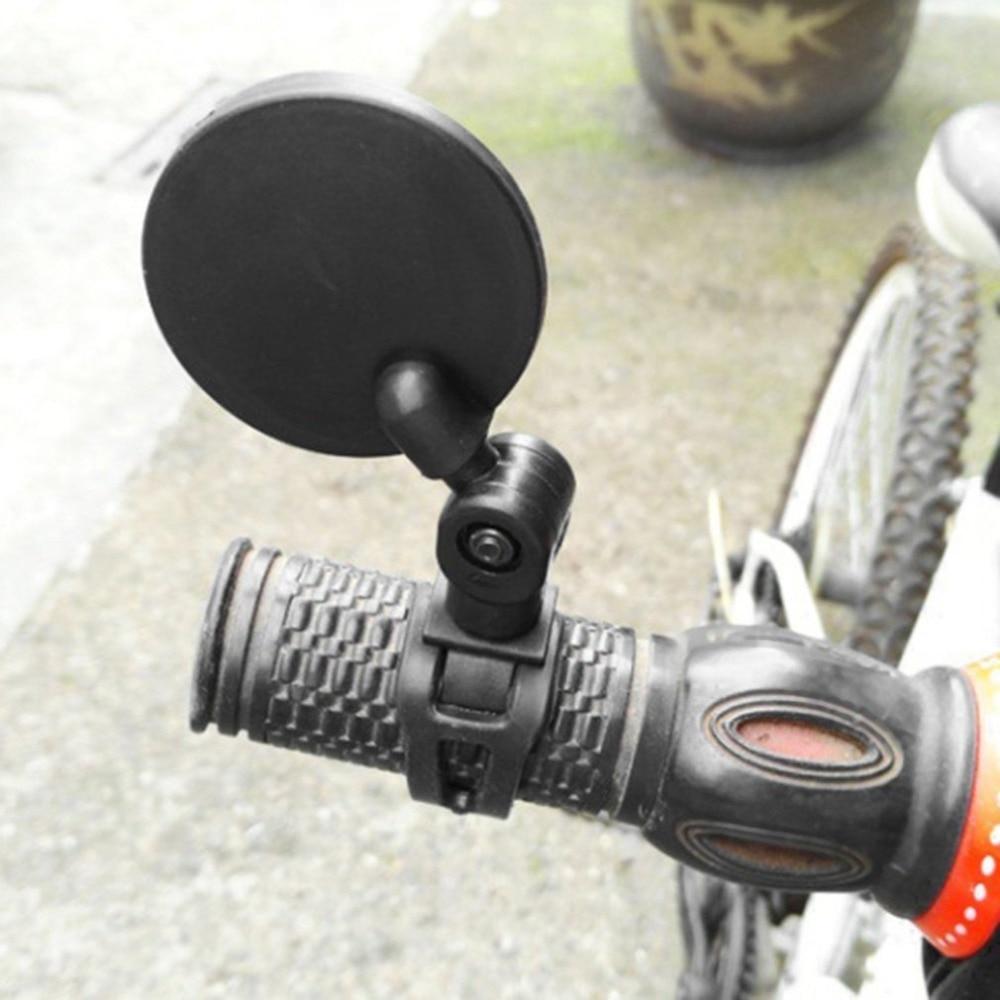 Universal Rotate Bike Rear View Side Mirror Handlebar Flexible Safety Rearview