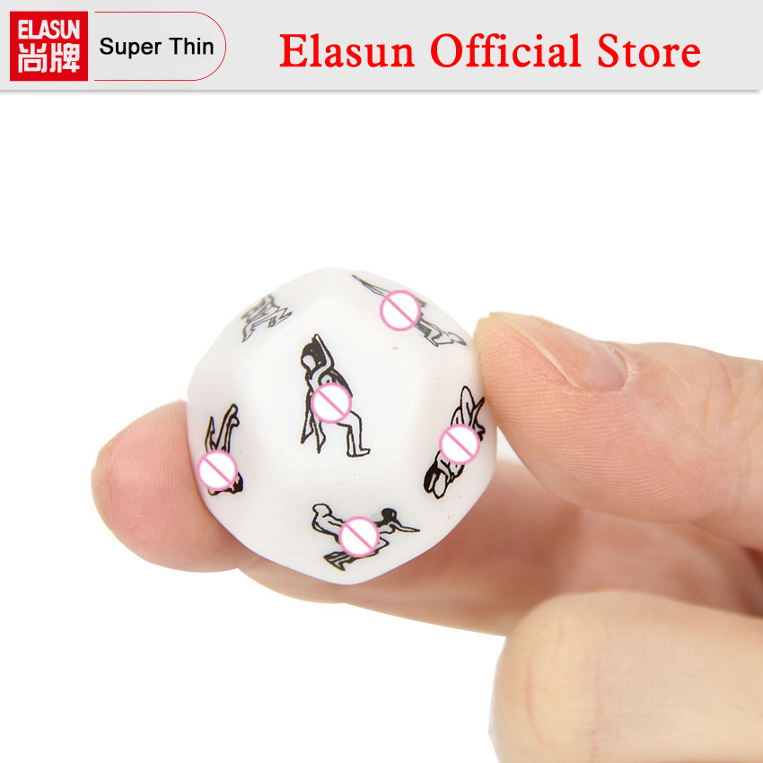1 PC Humour Gambling Sex Toy for Couple Adult Game Sex Products Sexy Romance Erotic Craps Dice Pipe Flirting Toys 2.5cm free shipping 4 pcs fun acrylic dice love dice sex dice erotic dice love game toy couple gift
