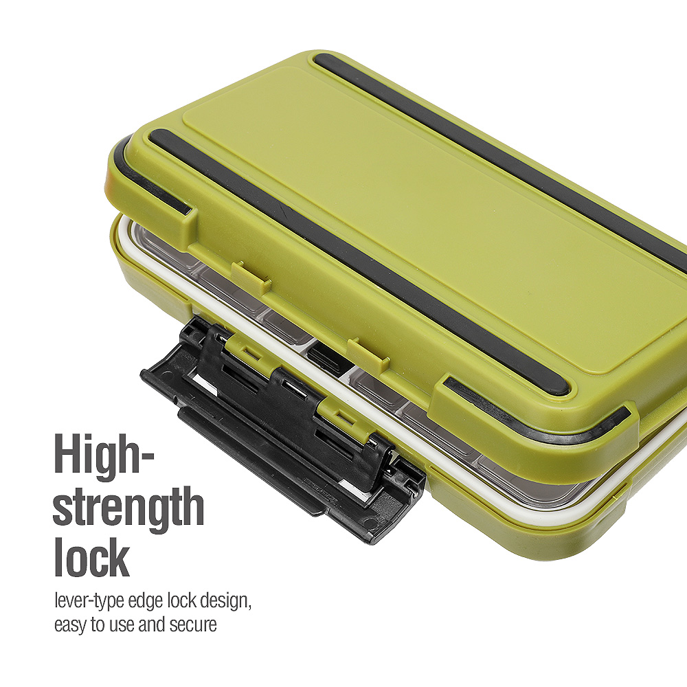Waterproof Double-Sided Tackle Box 2