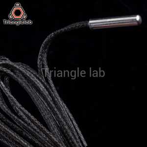 Image 3 - Trianglelab PT1000 Thermistor Cartridge for 3D printer E3D Volcano/ v6 heater block UPTO 450C PEEK PEI PT100 printing