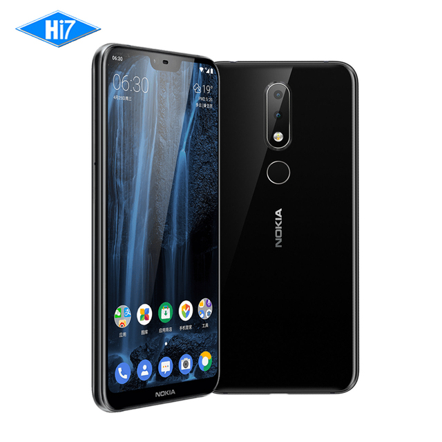"2018 New Nokia X6 6G RAM 64G ROM 3060mAh 16.0MP Front Camera Dual Sim Android Fingerprint 5.8"" Octa Core LTE Smart Mobile Phone"