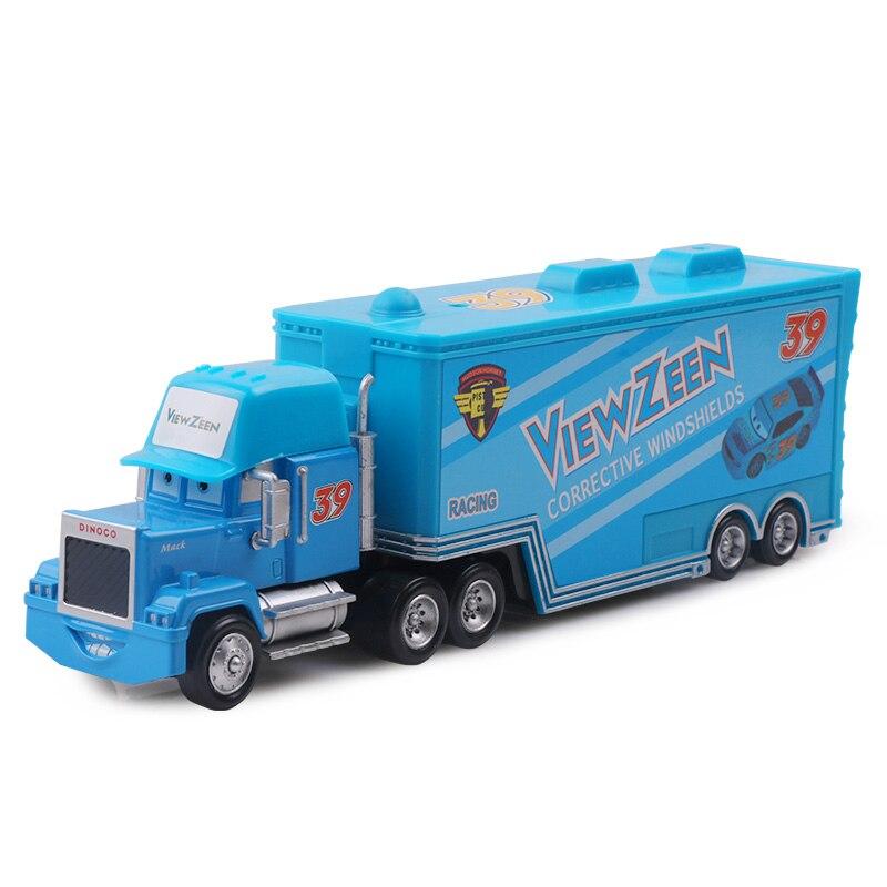 Дисней Pixar Тачки 2 3 игрушки Молния Маккуин Джексон шторм мак грузовик 1:55 литая модель автомобиля игрушка детский подарок на день рождения - Цвет: No.39