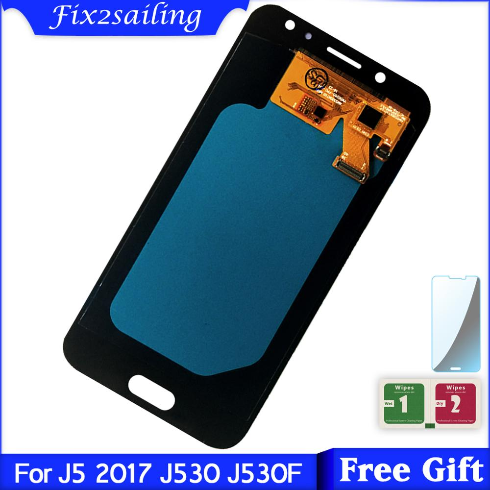 For Samsung Galaxy J5 2017 J530 SM-J530F J530M LCD Display Touch Screen Digitizer Assembly AMOLED LCDFor Samsung Galaxy J5 2017 J530 SM-J530F J530M LCD Display Touch Screen Digitizer Assembly AMOLED LCD