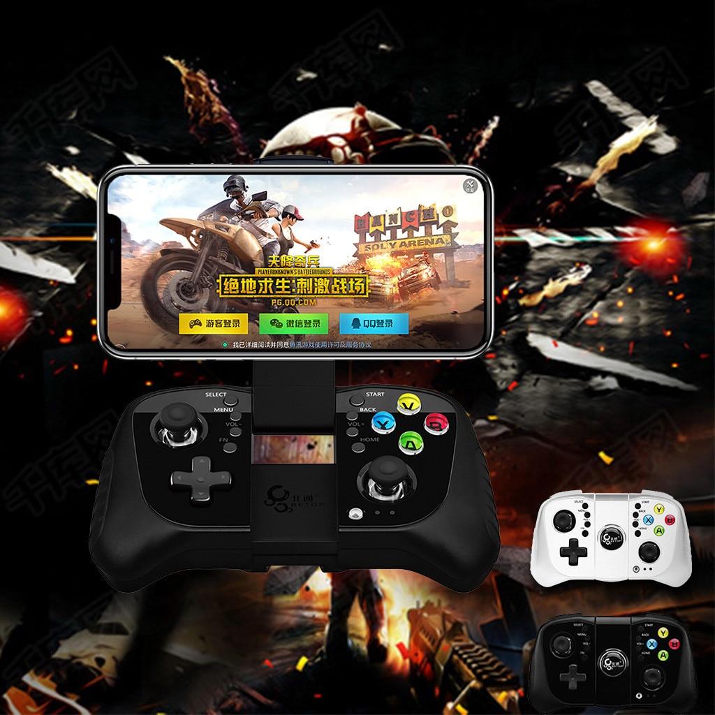 Contrôleur de jeu Mobile manette de jeu Bluetooth manette de jeu Joypad lecteur Direct PUBG iOS/Android manette de jeu universelle Gamer