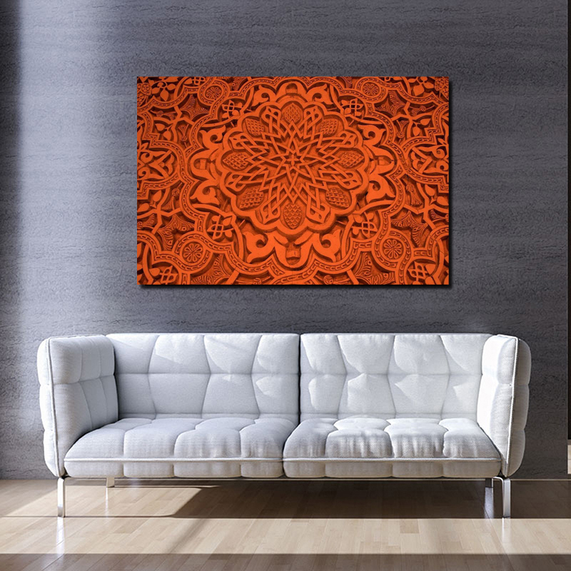 Islamic Art Background HD Canvas Painting Prints Living Room Home Decor Modern Wall Art Oil Painting Poster Pictures Accessories in Painting Calligraphy from Home Garden