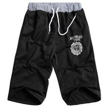 LASPERAL Elastic Waist Fit Shorts 2018 Mens Summer Workout Shorts Solid Loose Casual Shorts Masculina Plus