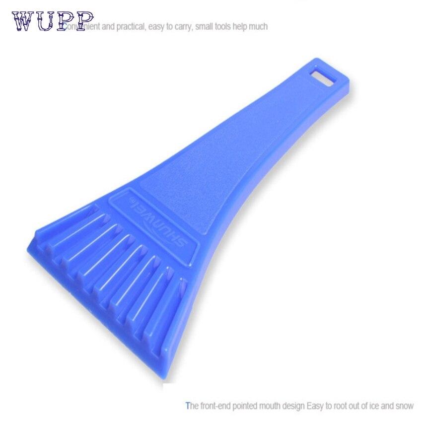 Dropship wupp 18 * 8cm Blue Car vehicle Snow Ice Scraper SnoBroom Snowbrush Shovel Removal Brush Winter Top Quality ABS