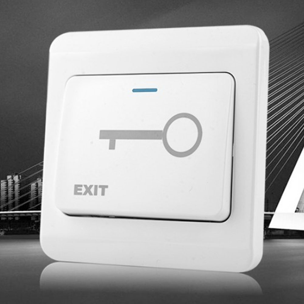 Door Exit Button Release Push Switch For Access Control Systemc Electronic Door Lock NO/NC Lock Sensor Switch Access Push
