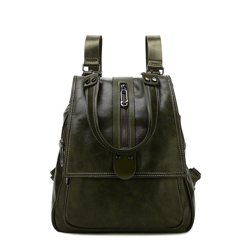 2019 Del Cuoio Genuino dello zaino delle donne di lusso zaino delle donne borse borse del progettista delle donne femminile zaino di modo del sacchetto in rilievo Nuovo C789