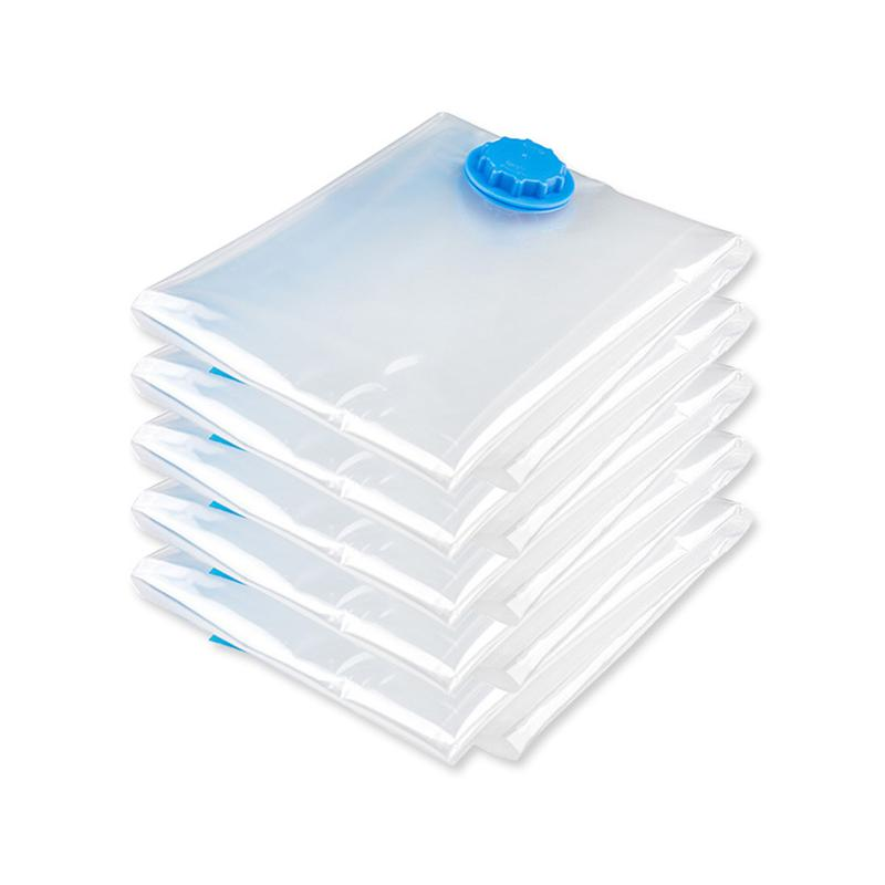 OUNONA Vacuum Storage Bags Space Saver Anti Pest Clothes Foldable Bag Wardrobe Storage Bag For Blanket Clothes Quilt Organizer