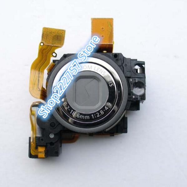 (90%NEW) Lens Zoom Unit For CANON FOR IXUS95 SD1200 IS IXY110 IS Digital Camera Repair Part Silver + CCD