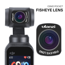 Ulanzi Magnetic Wide Angle Macro Fisheye Lens Vlog Shooting Pocket Lenses for DJI Osmo Camera Handheld Gimbal Accessories