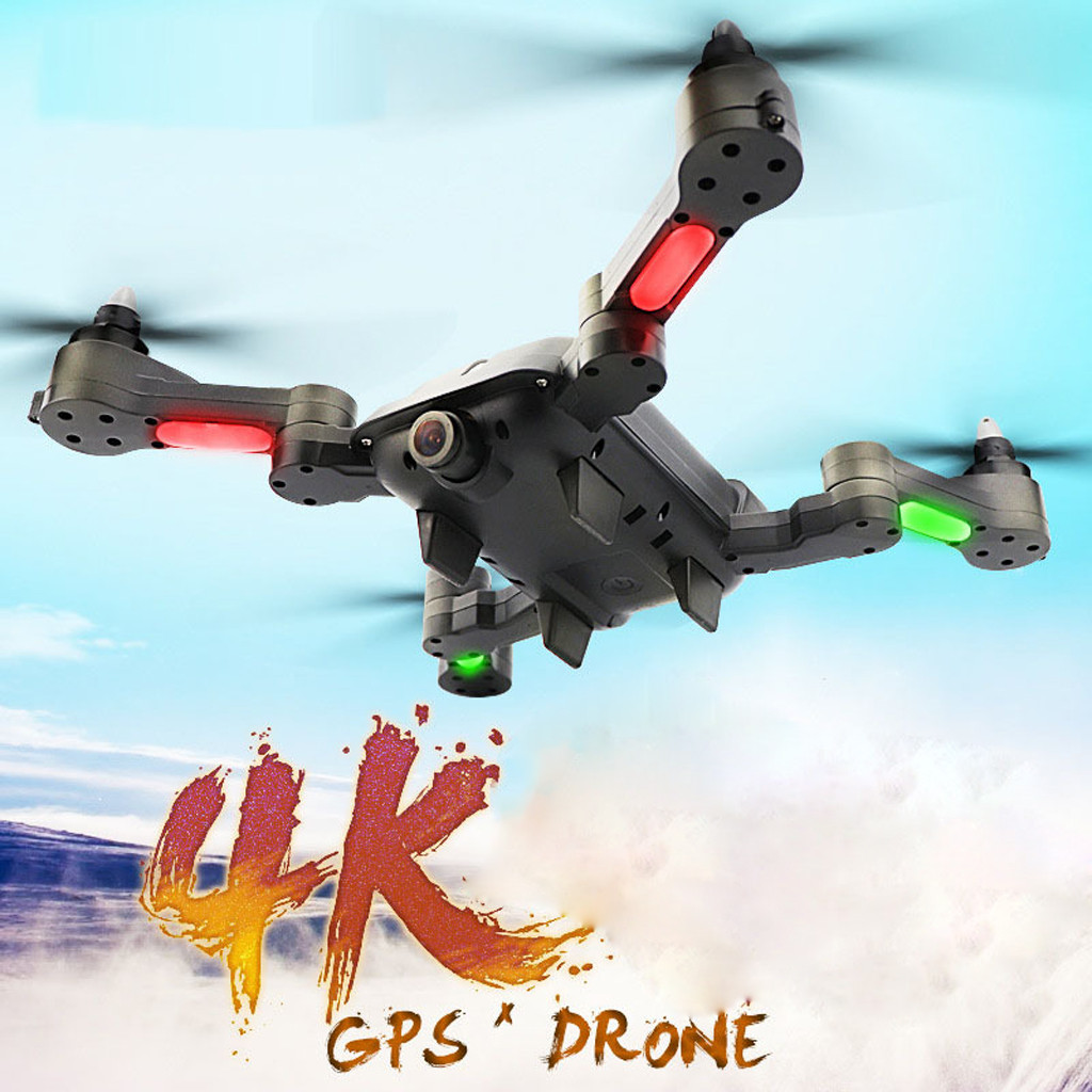 2019 helicopter X 328 Wifi HD 4K 120° wide angle Camera Double GPS Altitude Hold Brushless Quadc With Camera hd helicopter-in RC Helicopters from Toys & Hobbies