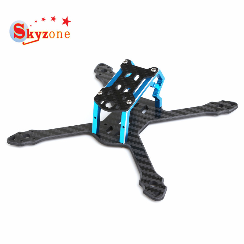 Skyzone Micro 140 140mm Carbon Fiber Frame Kit 3mm Arm Multi Rotor Parts for FPV Racing RC Drone Quadcopter DIY VS Realacc 100mmx250mmx0 3mm 100% rc carbon fiber plate panel sheet 3k plain weave glossy hot