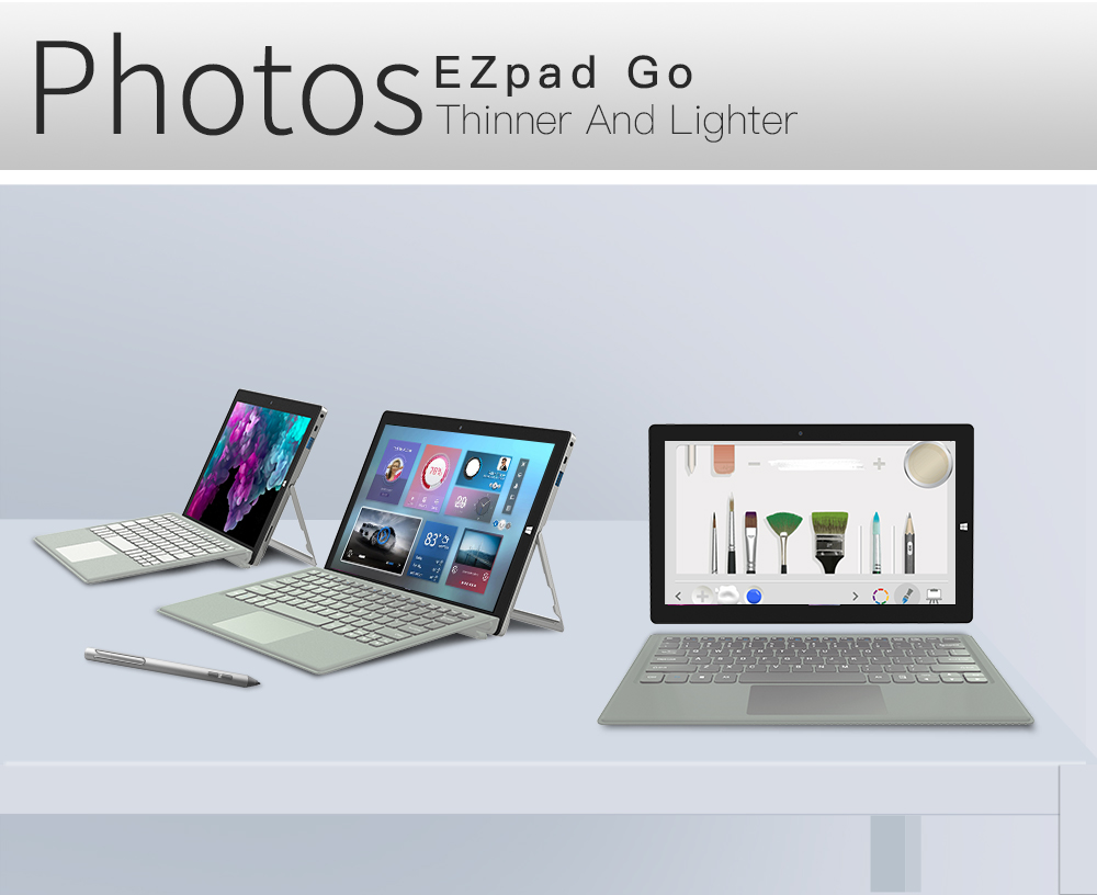 2 in 1 Tablet PC Jumper EZpad Go 11.6 inch IPS Display windows tablet (15)
